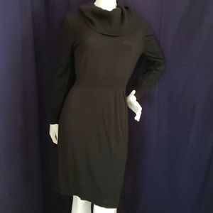 OLD NAVYstriper cowl n black Jack' sweater dress